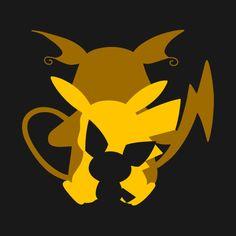 Shop Pichu, Pikachu & Raichu pikachu t-shirts designed by SPadawan as well as other pikachu merchandise at TeePublic. Pokemon Fan Art, Pokemon Tattoo, My Pokemon, Cool Pokemon, Pichu Pikachu Raichu, Pikachu Art, Deadpool Pikachu, Fnaf Wallpapers, Cute Pokemon Wallpaper