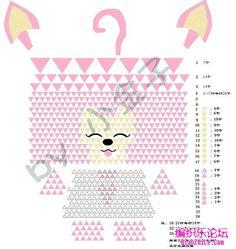3d Origami Triangle Fox. http://www.bianzhile.com/tag/5960/7