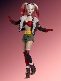DC Stars™ Collection | Tonner Doll Company - Bombshell Harley Quinn  #BombshellHarleyQuinn #TonnerDolls #dccomics #superheroes