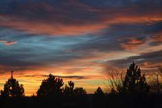 A beautiful sunrise in Colorado!