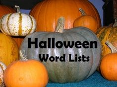 Learning vocabulary words can be fun this Halloween season with these word lists.