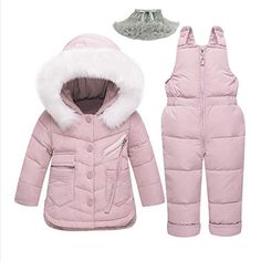 Cheap Price 2018 Winter Children& Clothing Set Baby Girl Winter Jumpsuit Down Jacket for Girls Boys Coat Clothes Thicken Ski Snow Suit Winter Baby Clothes, Winter Outfits For Girls, Baby Girl Winter, Winter Kids, Baby Boy Outfits, Kids Outfits, Winter Snow, Winter Dresses, Emo Outfits