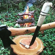 Use your old knives! They love it to be outdoors! @jasper8a