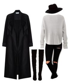 """""""Untitled #235"""" by alla-moda on Polyvore featuring ASOS, Yves Saint Laurent, Christian Louboutin and Amanda Wakeley"""