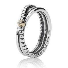 One of my close friends has this ring and i think its really elegant and beautiful x Authentic Pandora Rings