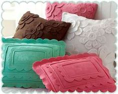 Felt pillows, so many options!