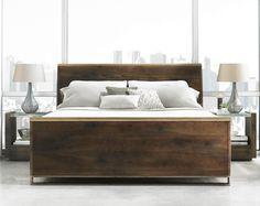 Modern Artisan Queen Bedroom Group by Schnadig. FM