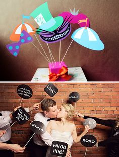photo_booth_dream_wedding_wednesday_alice_in_wonderland_props_fun_word_bubble_printable_props.png 501×661 pixels