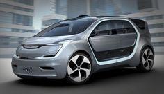 Fiat Chrysler Reveals The Portal Concept — All-Electric, Semi-Autonomous Van With 250-Mile Range