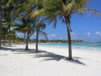 Gorgeous beaches on the Riviera Maya in Mexico