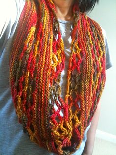 Knitknot Cowl By ANKESTRICK - Free Knitted Pattern - (ravelry)
