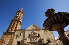 La Colegiata de San Sebastián es la Iglesia mayor de Antequera desde www.antequeraenlared.com sección: Para Visitar