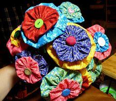 Flight of the Pook: DIY: Yo Yo Bouquet