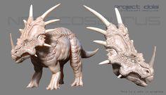 ArtStation - Noracosaurus, Erick Sala