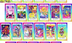 This Lisa Frank Tarot Deck Will Bring Out Your Inner Fifth-Grade Mystic #waaaaaaaaaaaaant