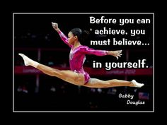 Gymnastics Poster Gabby Douglas Olympic Gymnast Photo by ArleyArt
