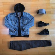 A pair of retro sneakers instead of that pair sneaks Stylish Mens Outfits, Dope Outfits, Swag Outfits, Casual Outfits, Men Casual, Hype Clothing, Mens Clothing Styles, Boys Clothes Style, Style Streetwear