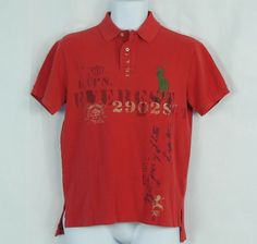 Polo Ralph Lauren Men s Custom Fit Big Pony Graphic Polo Shirt Size s  S-XXL b37c465aa5
