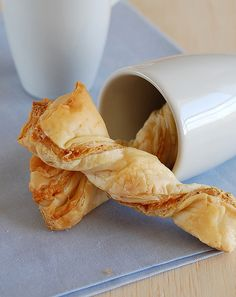 puff pastries cheese twists - my daughters favourite!
