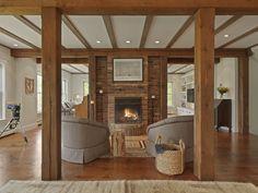 Brick & Wood - ELLEDecor.com