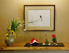 【室礼歳時記】季節の室礼/端午の節供 Japanese Interior, Ikebana, Bonsai, Room Decor, Frame, Holiday, Flowers, Pictures, Painting