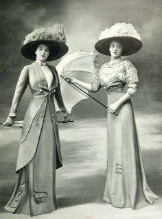 Znalezione obrazy dla zapytania edwardian fashion