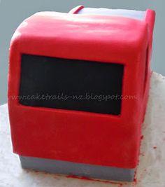 How to make a fire truck cake {Tutorial} Fireman Sam Birthday Cake, Fireman Sam Cake, Birthday Cakes, Niall Birthday, 3rd Birthday, Birthday Parties, Fire Engine Cake, Truck Cakes, Monster Truck Birthday