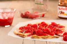 Make Raspberry-Nutella Cheesecakeadillas for a sweet take on the dish.