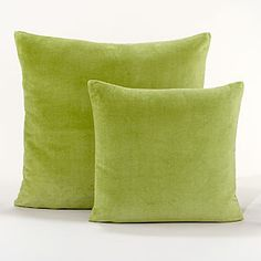 For my couches... Just love this color green