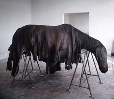 BERLINDE DE BRUYCKERE – Horse sculpture