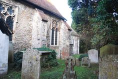 """The graveyard at St Mary's. In England, You Can Camp in Abandoned Medieval Churches """"Champing"""" supports the upkeep of village churches, while offering travelers a unique overnight stay."""