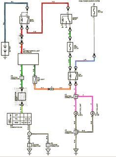 Back-up Light Wiring Diagram Auto Info Pinterest