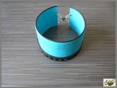 bracelet esclave en pâte polymère par Maïlys07.