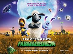 A Shaun the Sheep Movie: Farmageddon When an alien possessing strange powers crash-lands near Mossy Bottom Farm, Shaun the Sheep quickly makes… Latest Family Movies, Trouble With The Curve, Cute Alien, Shaun The Sheep, Film Releases, Close Encounters, Comedy Films, Cartoon Movies, Top Movies