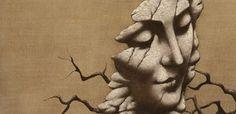 František Muzika - The head Statue, Painting, Art, Art Background, Painting Art, Kunst, Paintings, Performing Arts, Painted Canvas