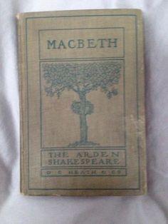 Macbeth The Arden Shakespeare D C Heath Co 1905 HC | eBay