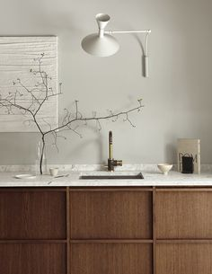 T.D.C: Timber and Terrazzo Kitchen by SundlingKickén for Nordiska Kök