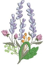 Vintage Lavender Set, 13 Designs - 5x7 | What's New | Machine Embroidery Designs | SWAKembroidery.com Mar Lena Embroidery