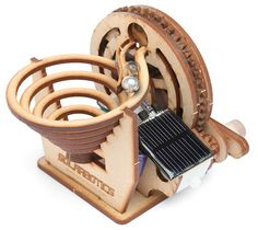 Build this fun kit and then try and convince folks in your office that you've succeeded in building a perpetual motion machine.