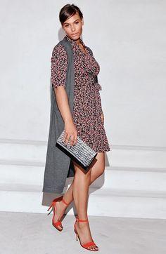 Plus Size Wrap Jersey Dress