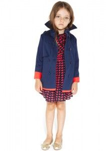 Cute trench coat for girls from Little Marc Jacobs ss13