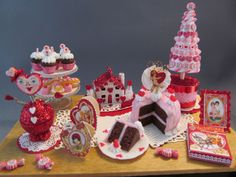 Valentine's Day Party Table