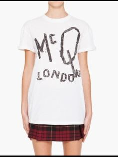 My fave fave fave Alexander McQueen t shirt!!