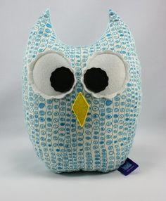 Cute owl pillow for kids / Poduszka-sowa dla dzieci