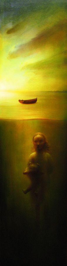 Peter van Straten Surreal Art, Natural World, Light In The Dark, Surrealism, Van, In This Moment, Dreams, Illustration, Nature