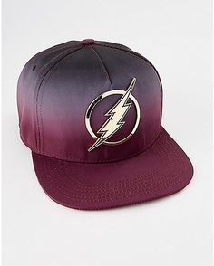 Ombre The Flash Snapback Hat - DC Comics - Spencer's