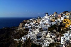 Classic Oia by Ifigeneia Apostolopoulou on Site Archéologique, San Francisco Skyline, Greece, Paradise, Classic, Water, Travel, Outdoor, Beautiful