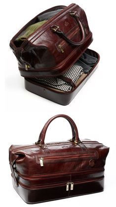 My man would look soo amazing traveling with this bag. Indiana Adventure Duffle Bag