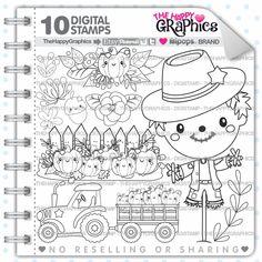 Autumn Stamp 80OFF COMMERCIAL USE Digi Digital Image