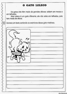 80 Atividades de Produção textual ou redação para o 4º Ano - Criação de texto e trabalho da escrita Education, Comics, Lp, Decor, Activities For Students, Activities For Autistic Children, Literacy Activities, Writing Activities, Paulo Freire